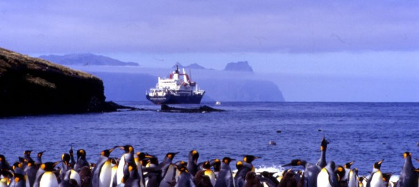Marion Dufresne at Crozet Islands