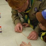 Beavers learn manual dexterity
